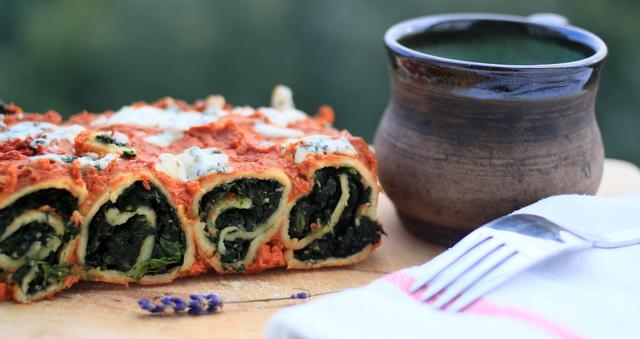 spenatove lasagne recept 1