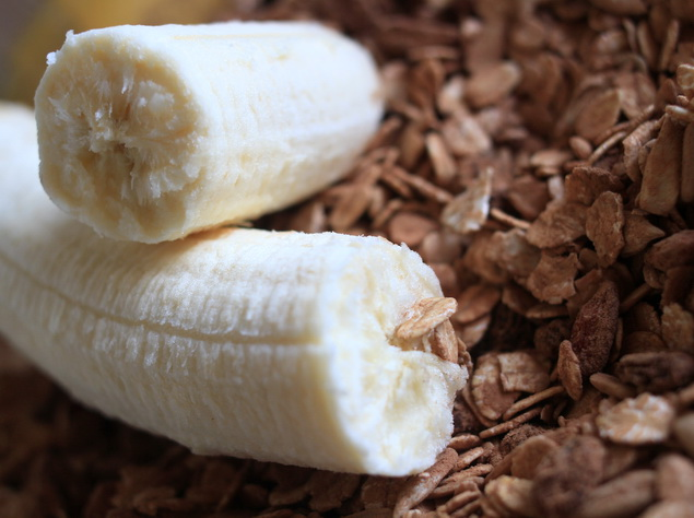 banan ovsene vlocky