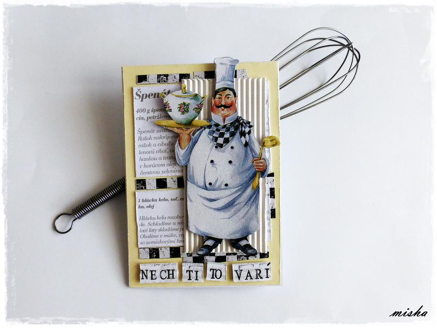 handmade pohladnica kuchar