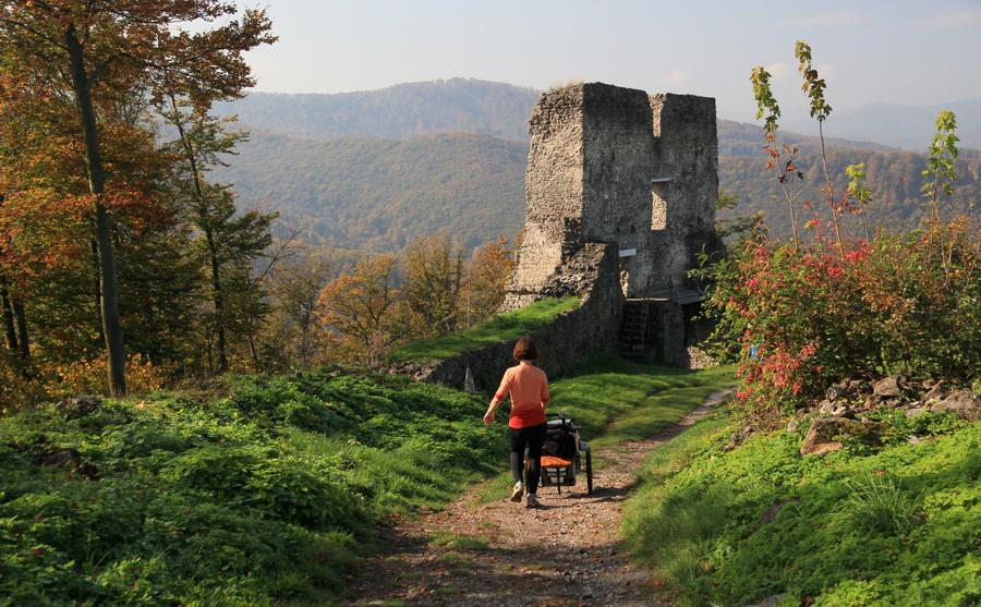 vylet na pusty hrad