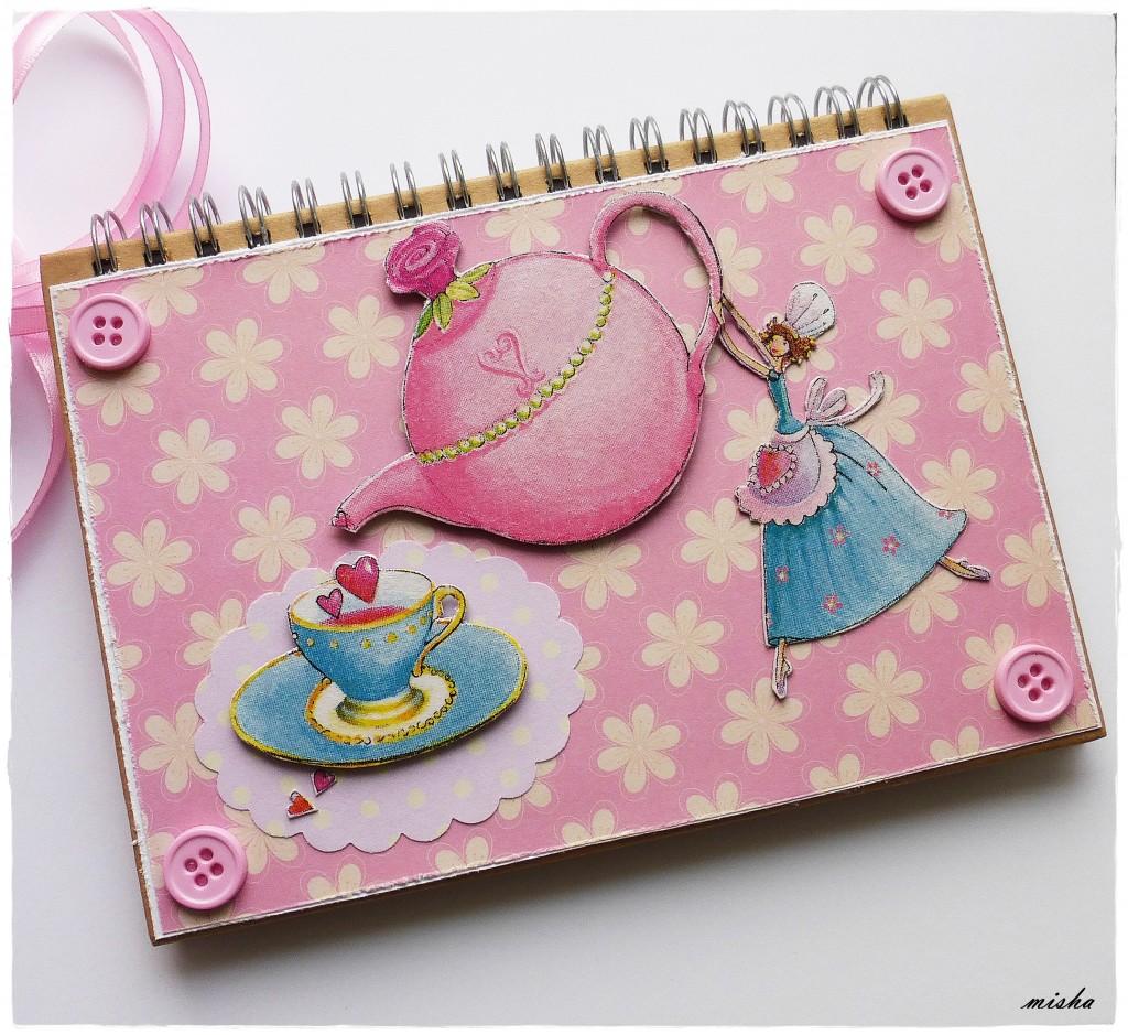 handmade zápisník
