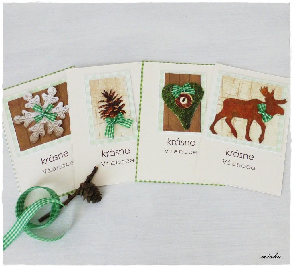 handmade vianocne pohladnice