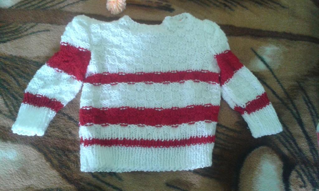 handmade hackovany sveter