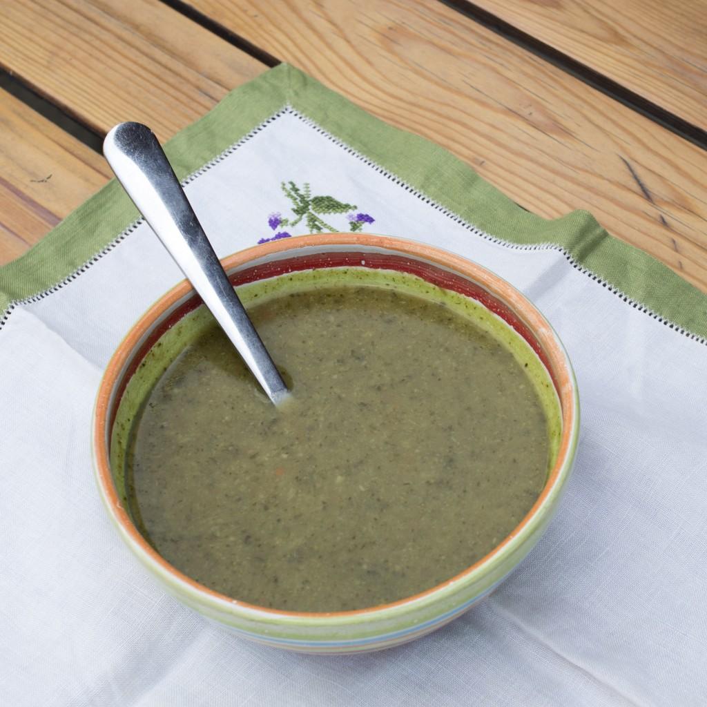 brokolicova polievka medvedi cesnak