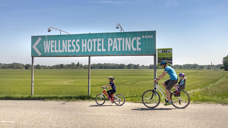 cyklotrasa patince